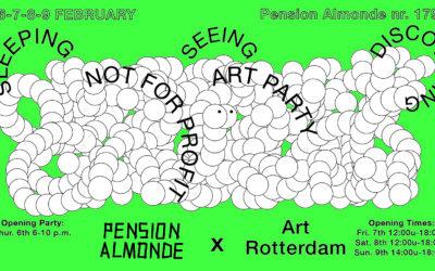 Pension Almonde: het offstage podium van Art Rotterdam